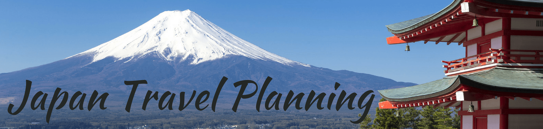 Japan Travel Planning - Everything you need to plan your trip to Japan