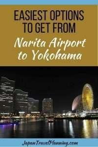 Narita Airport to Yokohama