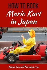How to Book Mario Kart in Tokyo and Japan