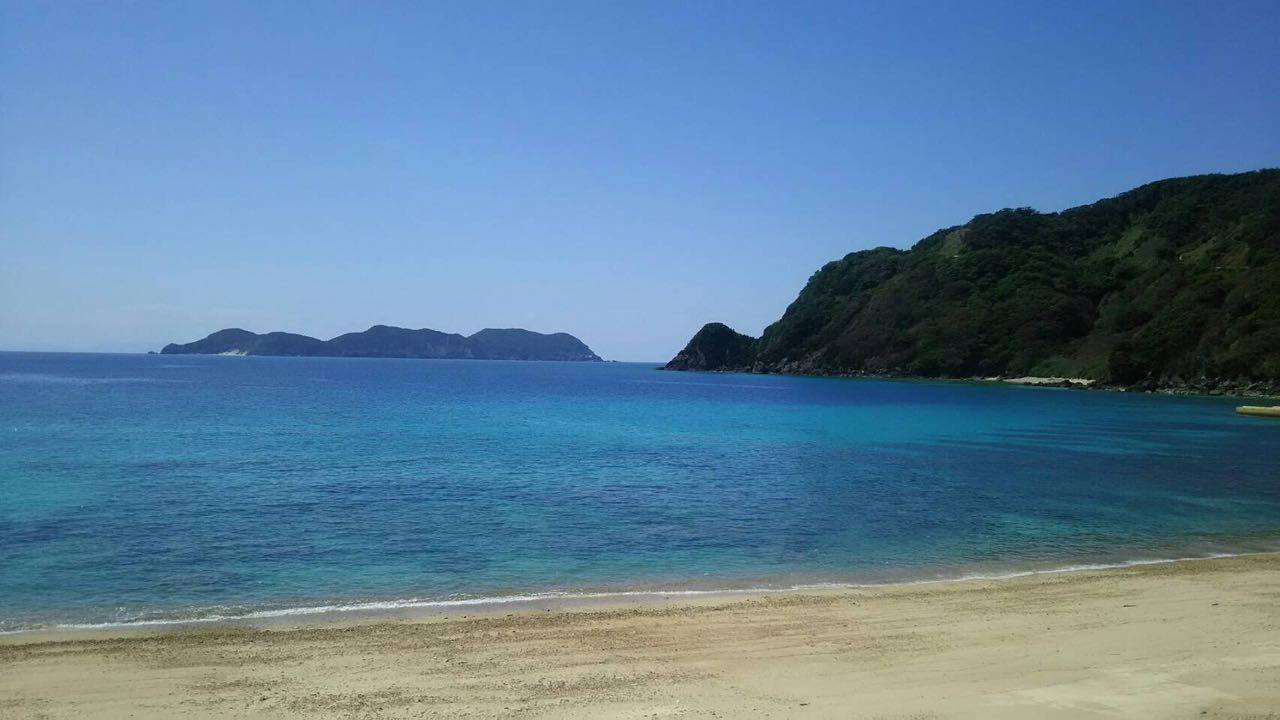 Going to the Beach in Amami Islands in Japan