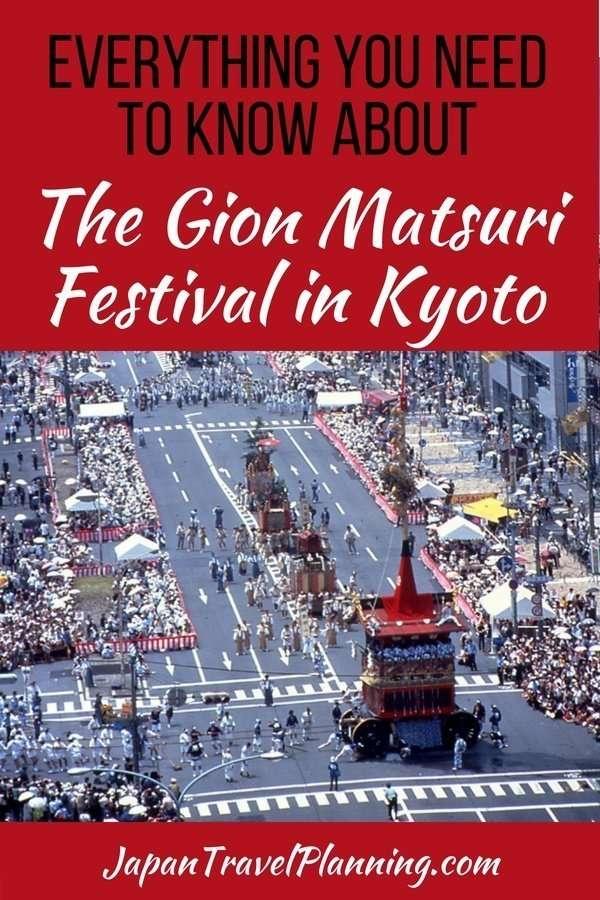 Gion Matsuri Festival in Kyoto Japan