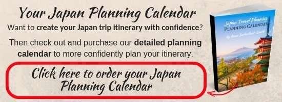 Your Japan Planning Calendar