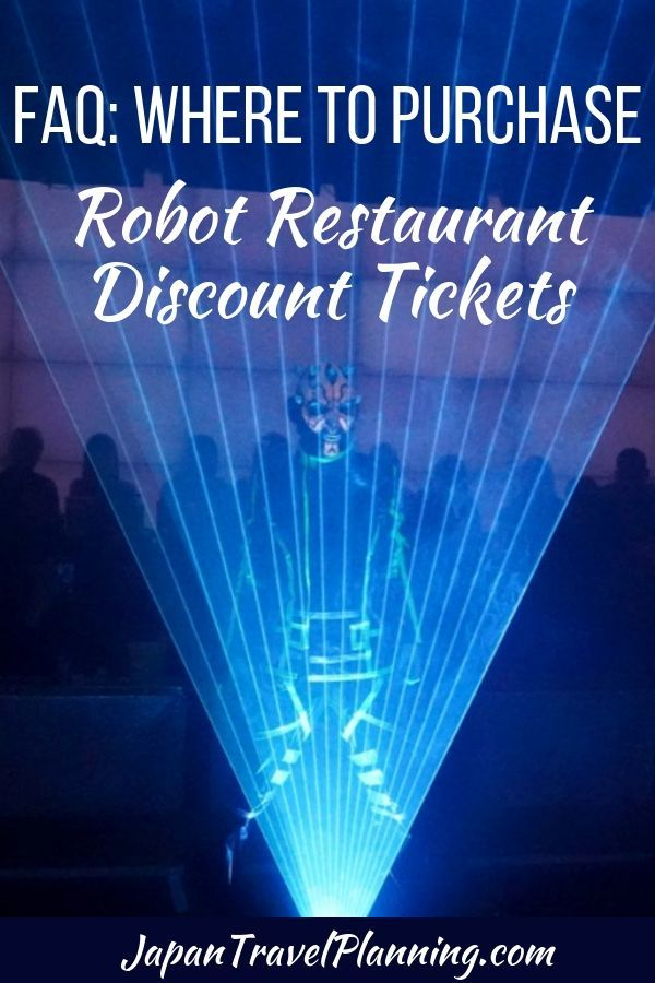 Robot Restaurant Discount Tickets