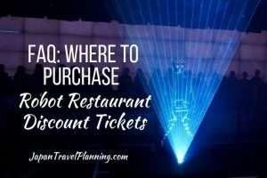 Robot Restaurant Discount Tickets