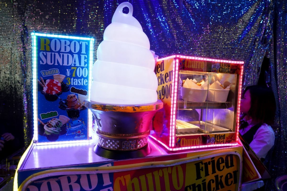Robot Restaurant Snack Cart