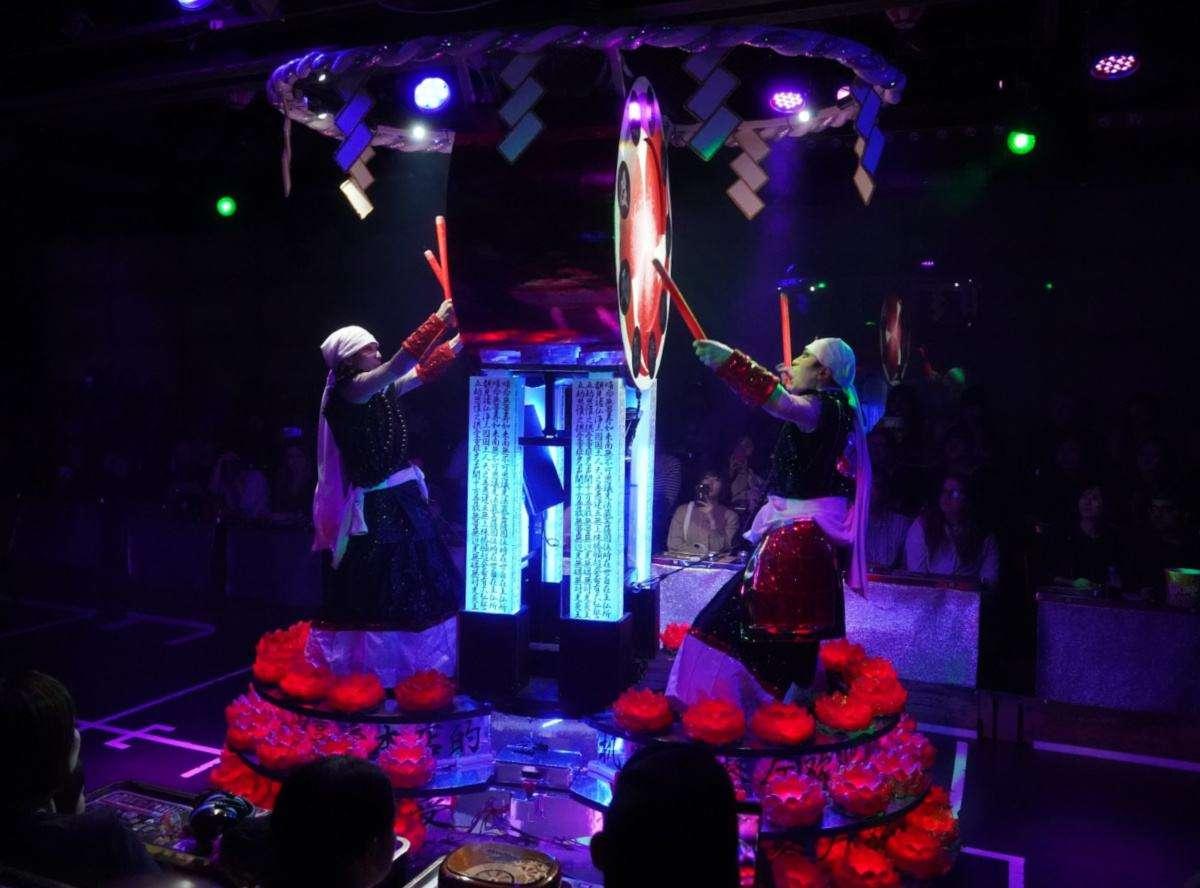 Robot Restaurant Taiko Drumming