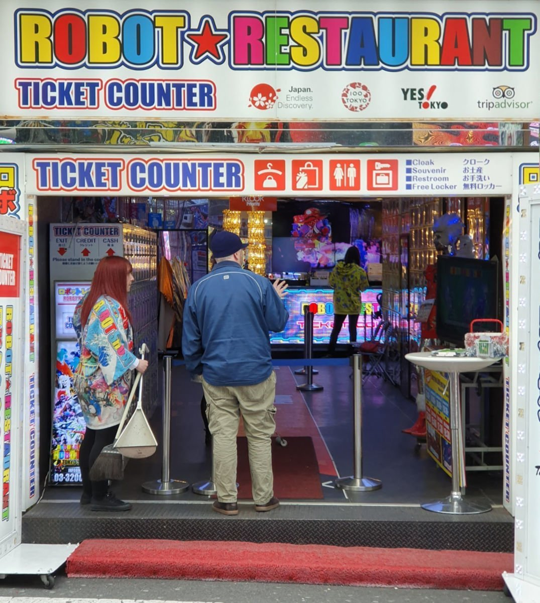 Robot Restaurant Ticket Counter