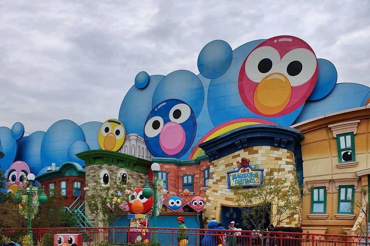Elmo's Imagination Playland