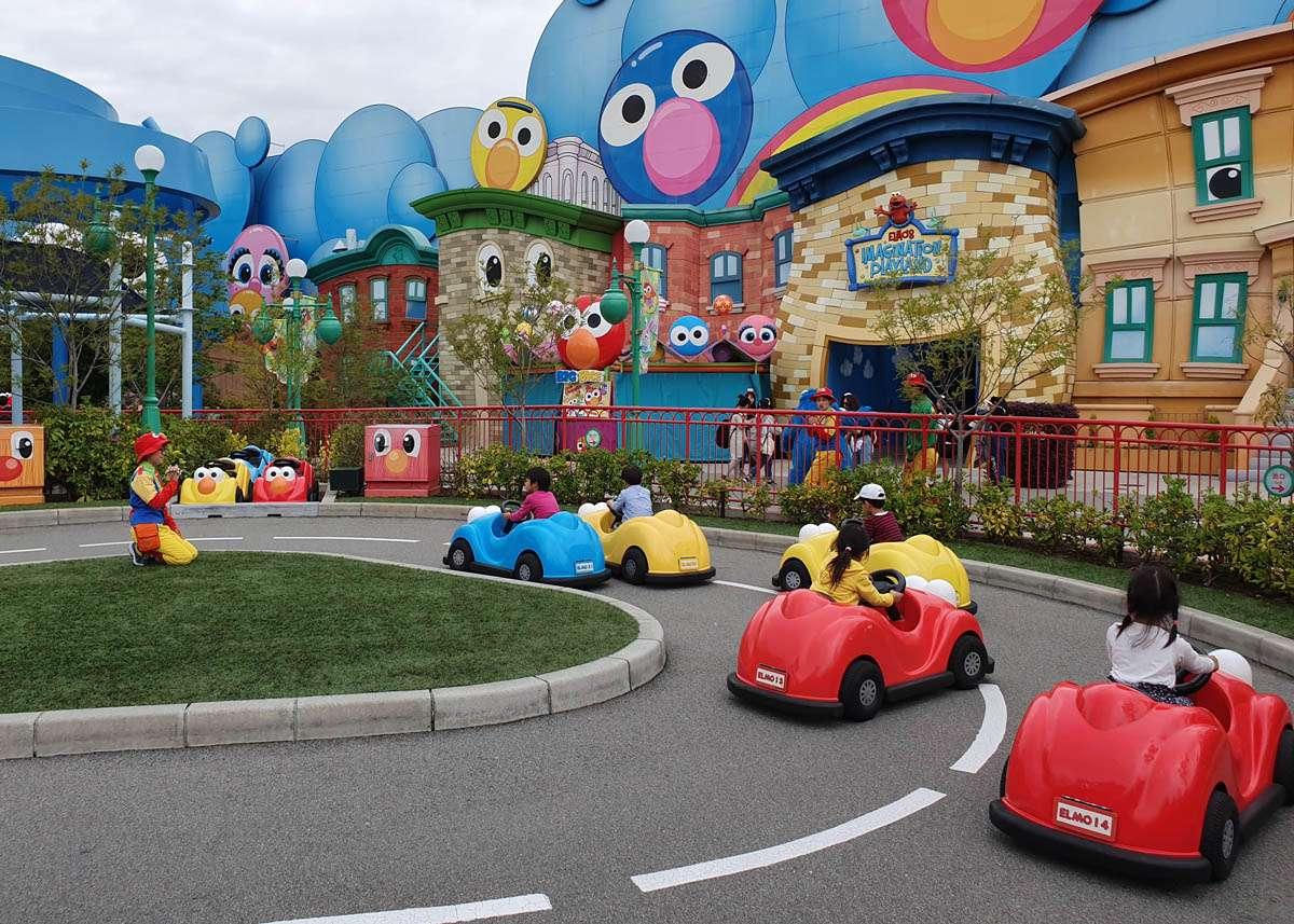 Elmo's Little Drive