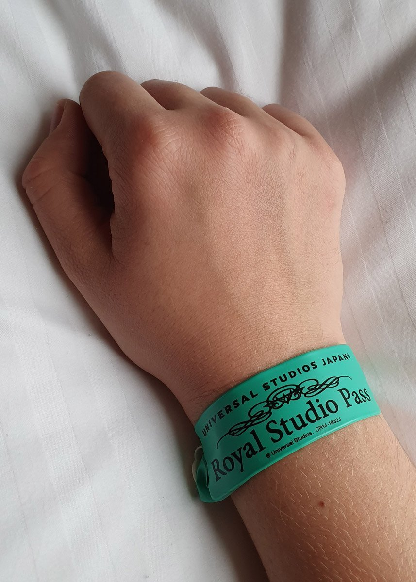 Royal Studio Pass Wristband