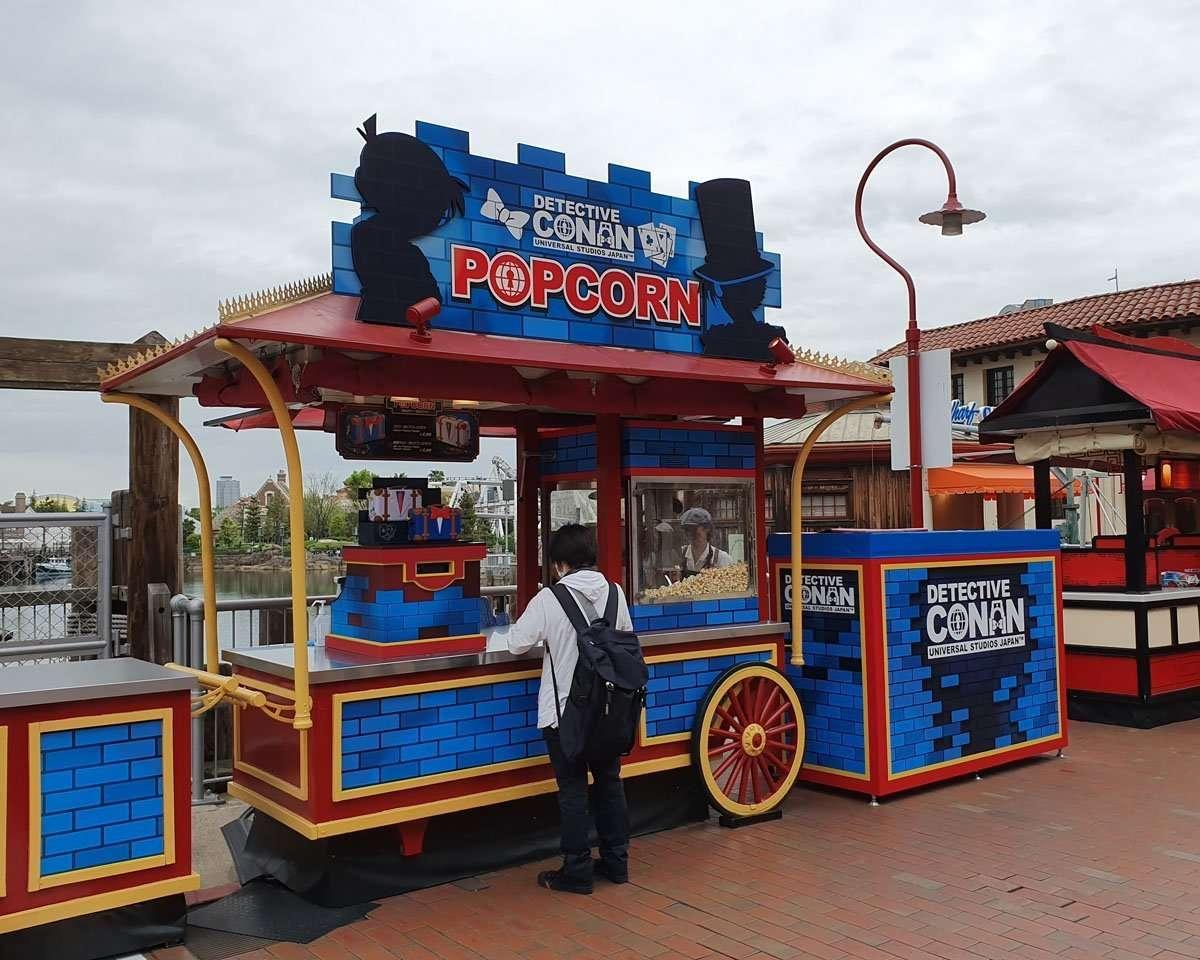 Detective Conan Popcorn Cart