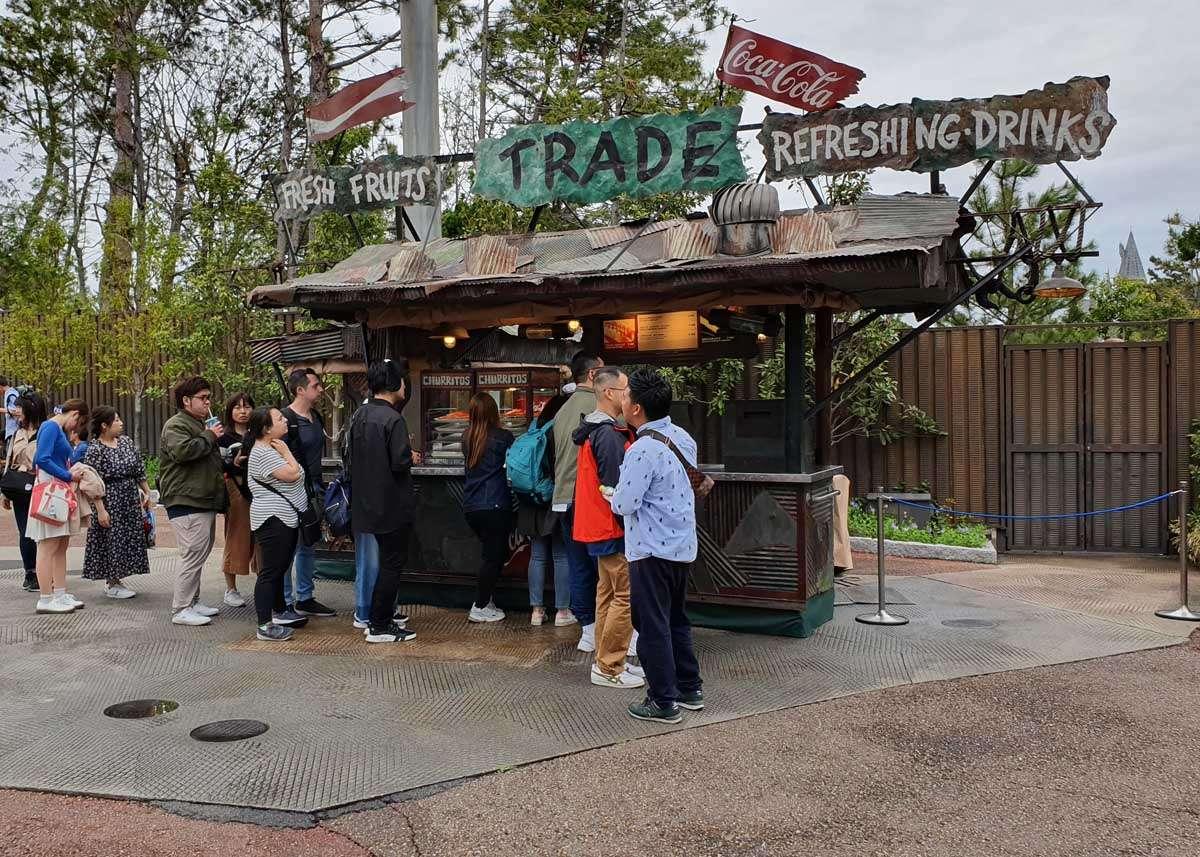 Jurassic Park Food Stand