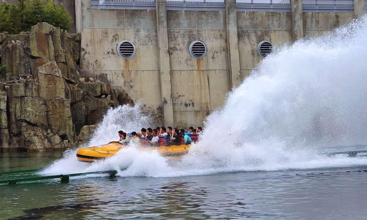 Jurassic Park - The Ride - Splashdown