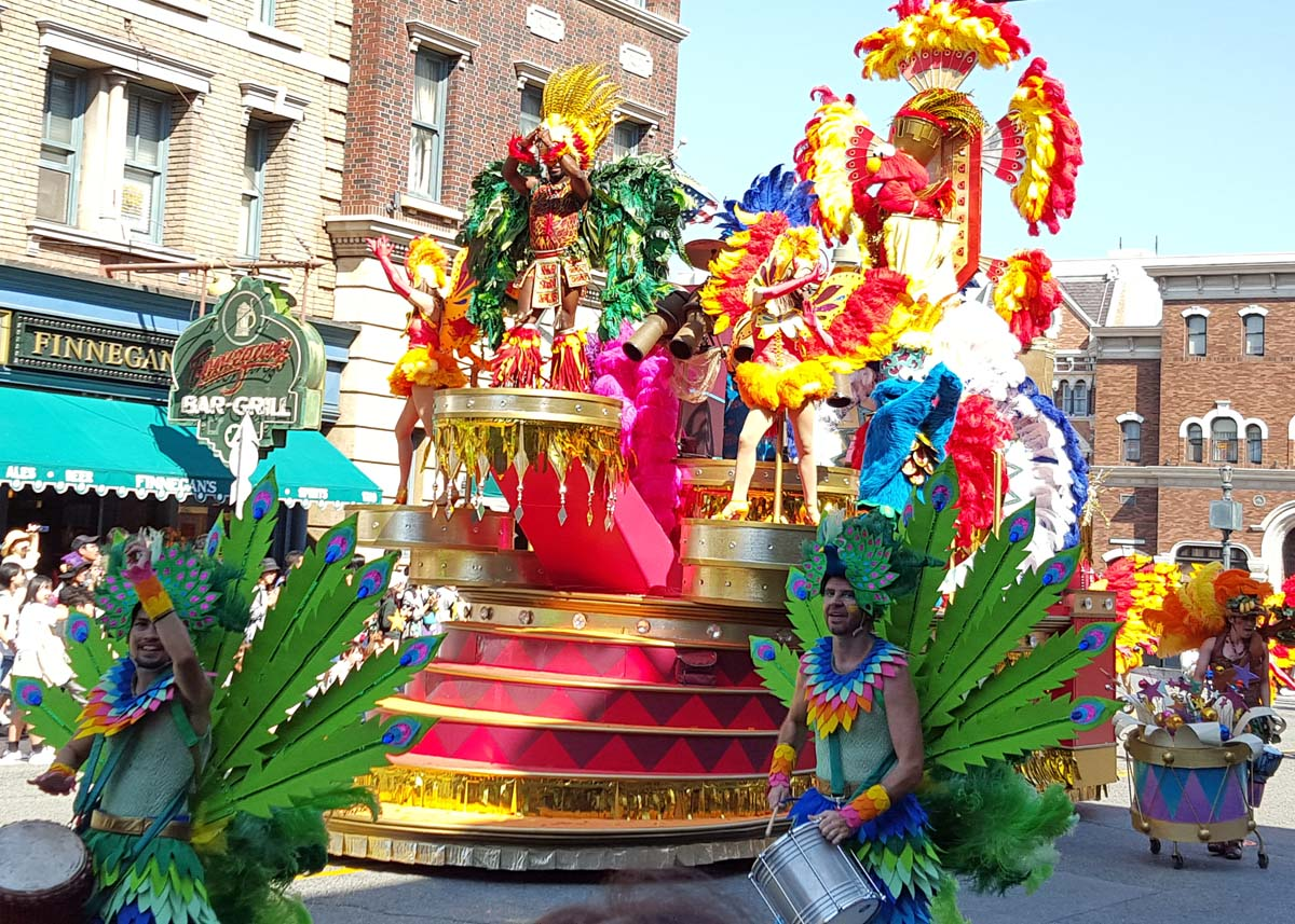 Universal Studios Day Parade