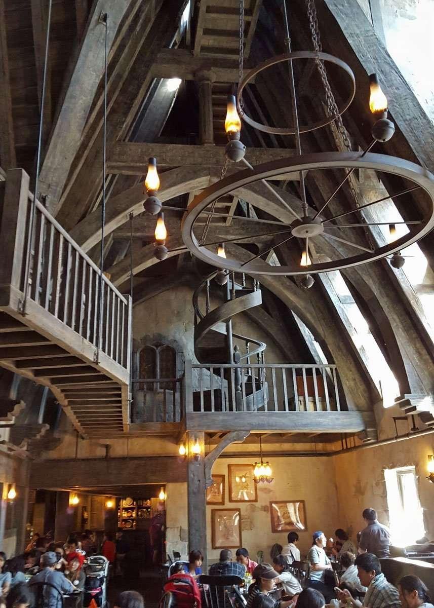Inside Three Broomsticks