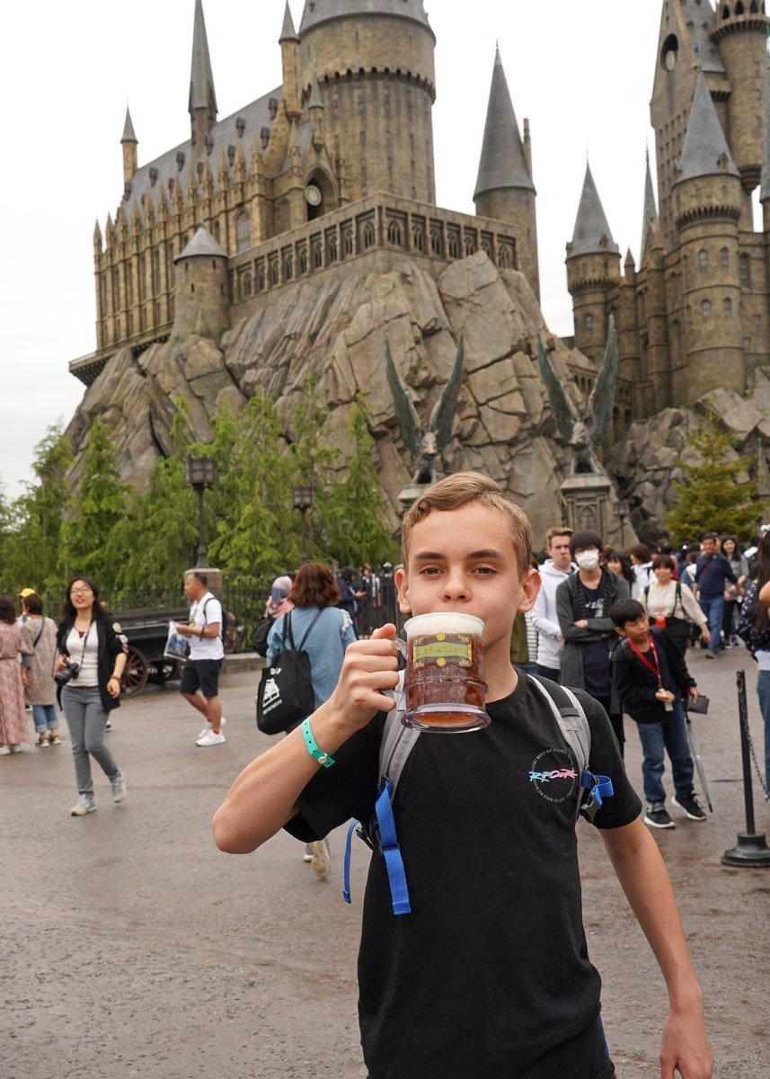 Time for a Butterbeer
