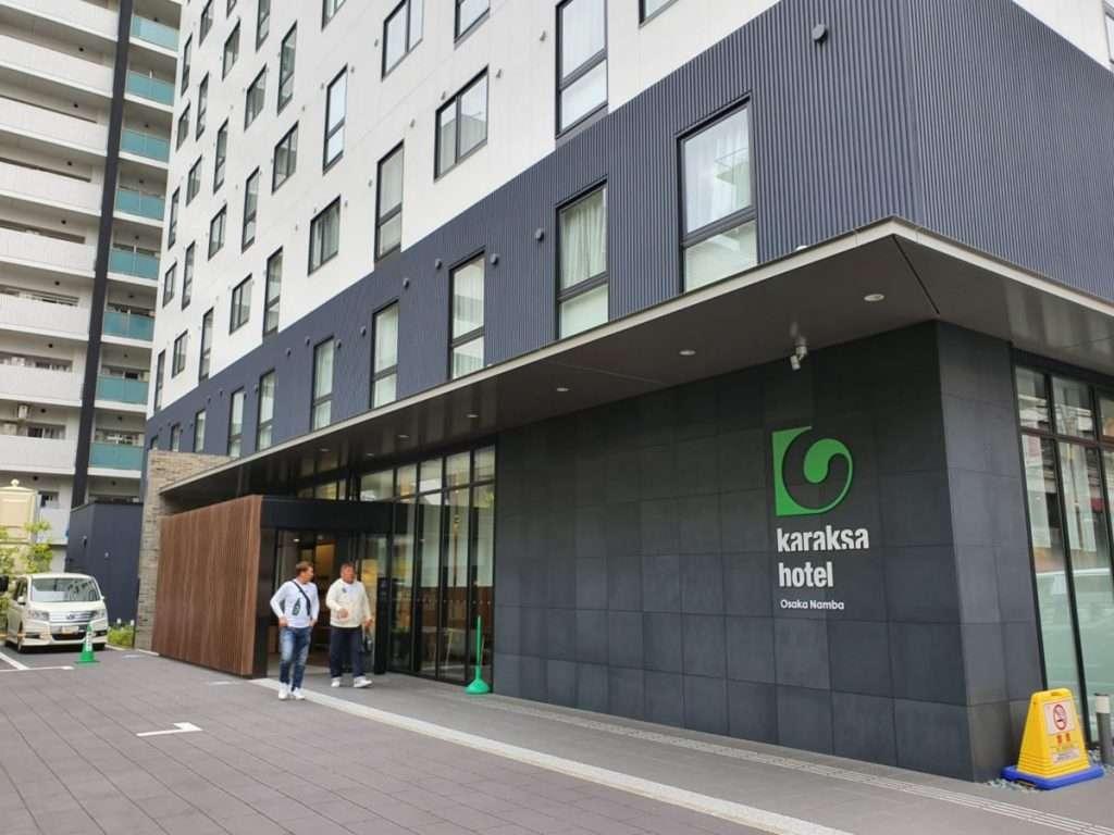 Entrance to the Karaksa Hotel Osaka Namba