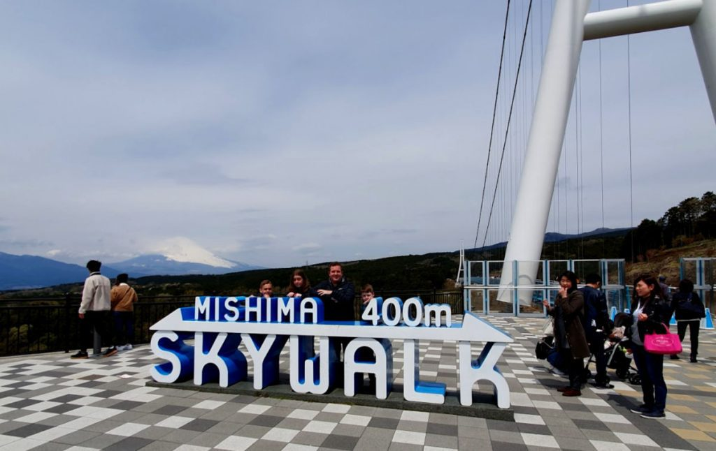 Mishima Skywalk in Hakone Japan
