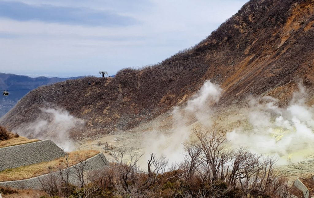 Owakudani Volcanic Area in Hakone 2