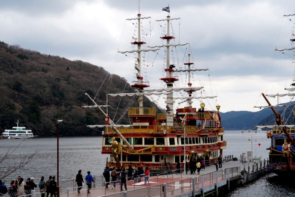 Pirate Ship Cruise on Lake Ashi in Hakone